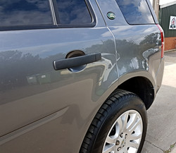 Freelander completed insurance repairs
