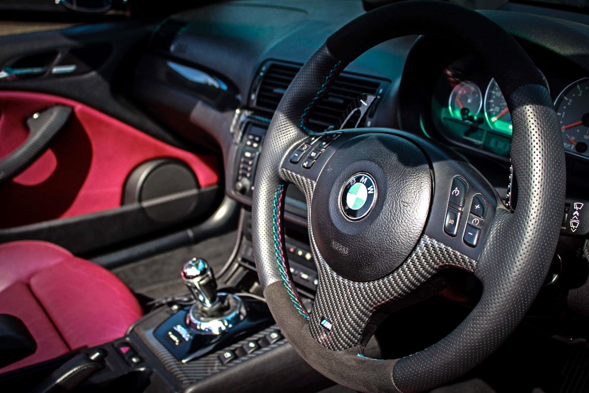BMW M3 new steering wheel