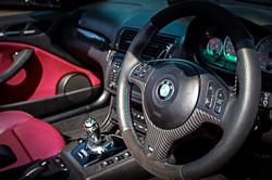BMW M3 new steering wheel
