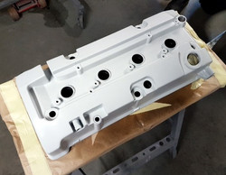 Engine Cover Primered Ready For Hydro Dipping
