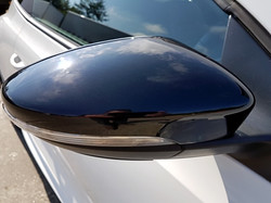 VW Scirocco wing mirrors painted