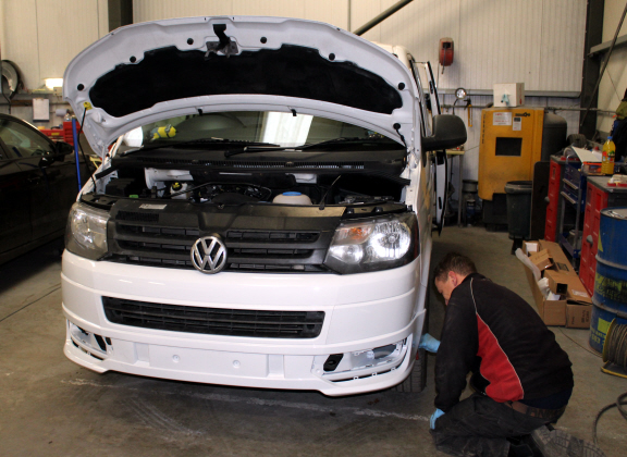 T5 being fitted back up