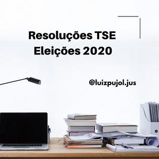 Eleições 2020: Resoluções TSE