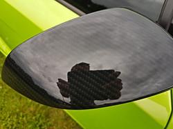 Lamborghini wing mirror hydro dipped