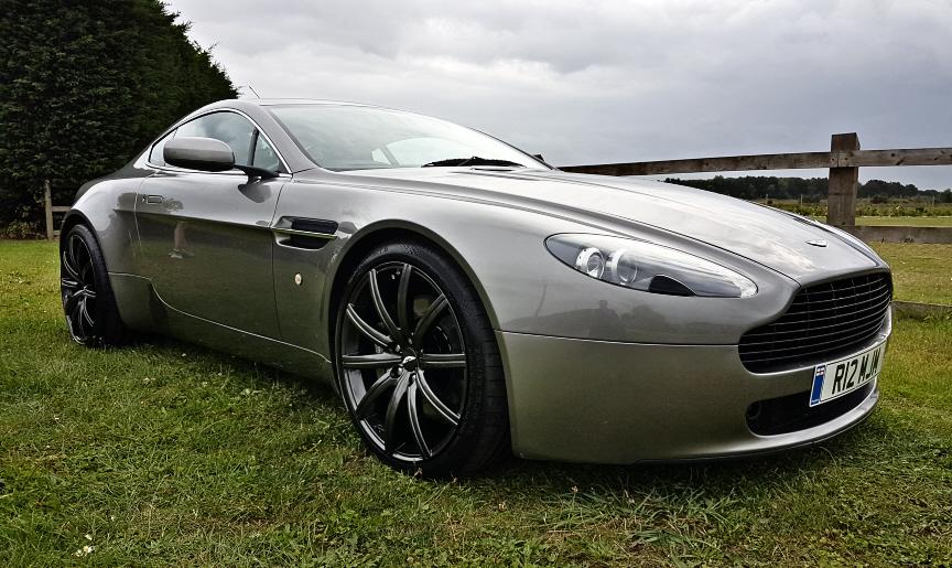 Aston Martin Grille