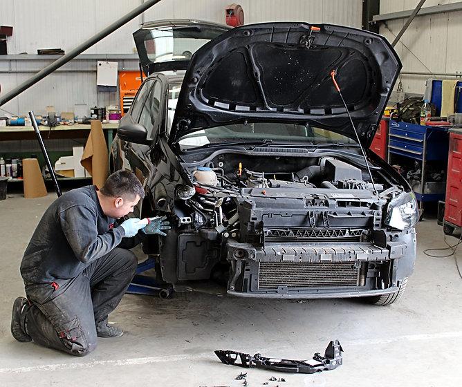 James stripping car.jpg