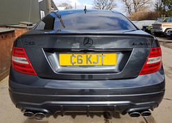 Mercedes C63 after styling