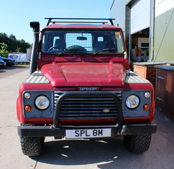 Defender before the styling had started