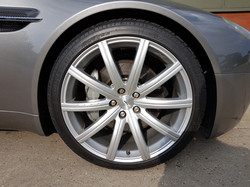 Original colour Aston Martin wheels