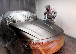 Marc Spraying BMW Z4