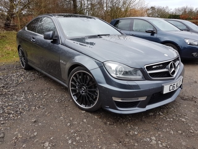 Mercedes C63 before styling