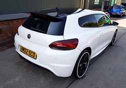 VW Scirocco de-badged