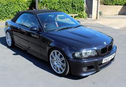 BMW before being sprayed