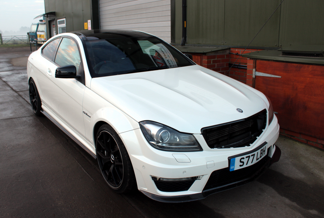 The AMG C63 before the styling started
