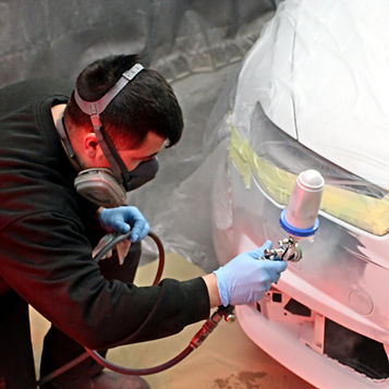 Car paint repairs