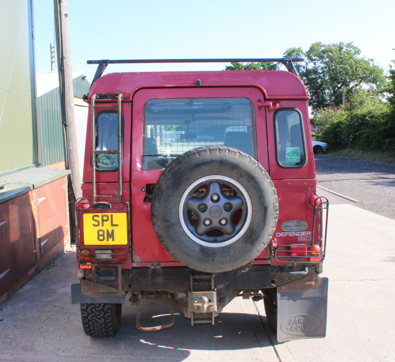 Old Defender wheels