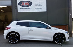 VW Scirocco styling complete