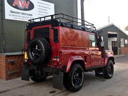Defender all finished and styled
