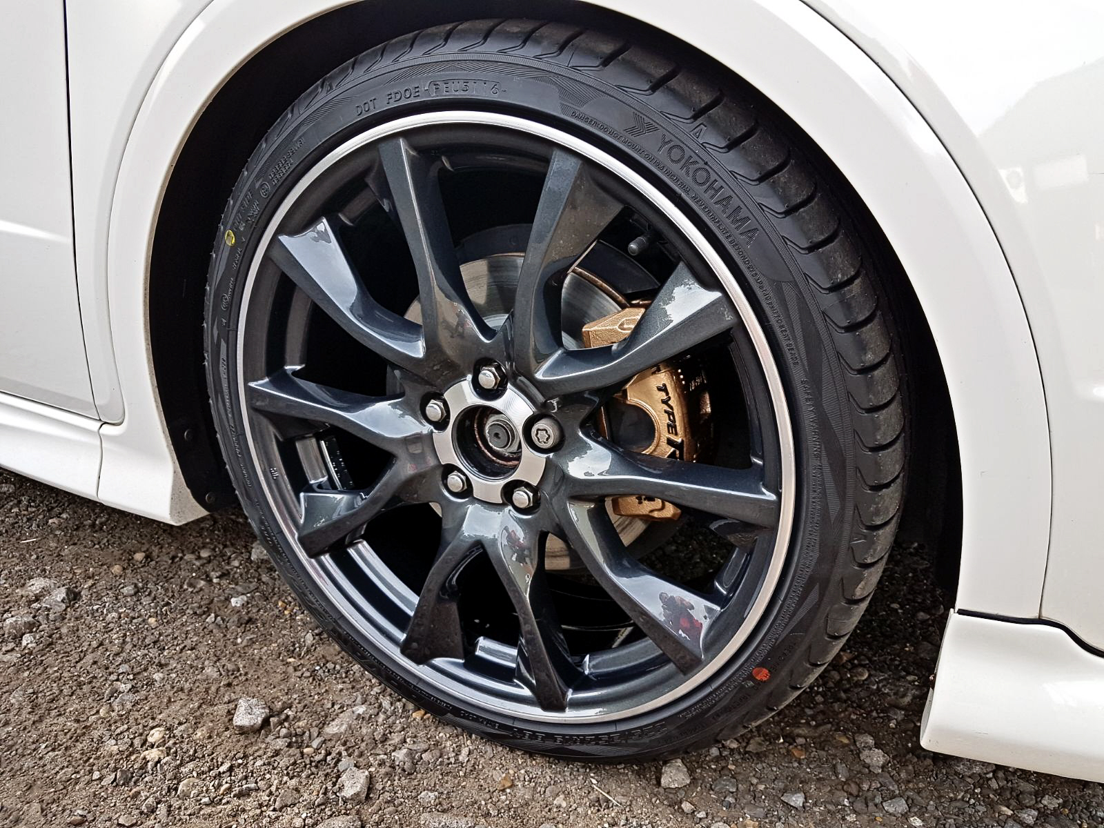 Honda Mugan Calipers