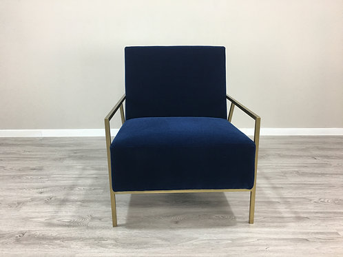 Bedford Velvet Chair
