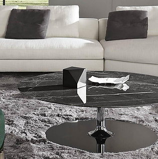 Marble Steel Couch Table TiMa