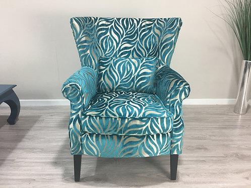 Blue Vintage Chair restoration