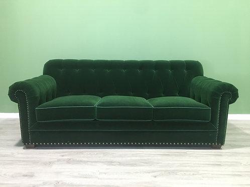 Velvet Chesterfield Sofa set rework