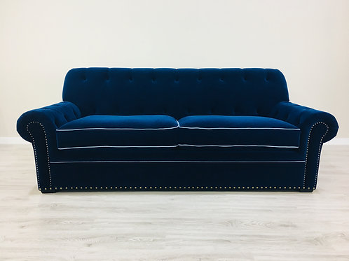 Blues and Pipes 2 seater sofa