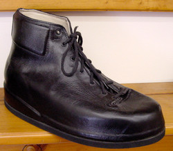 Custom molded boot