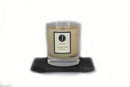 Unscented Beeswax Candle 220g
