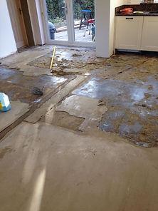 Subfloor preparation Weston Floorng