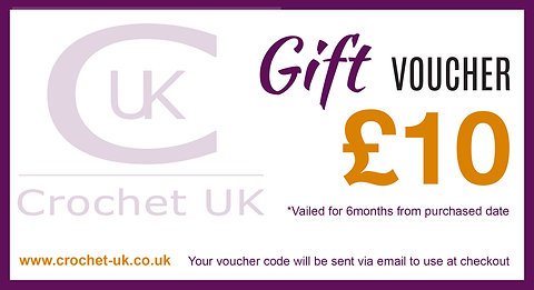Crochet UK Gift Vouchers