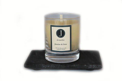 Jasmine & Lime Beeswax Candle 165g