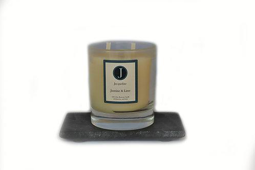 Jasmine & Lime Beeswax Candle 220g