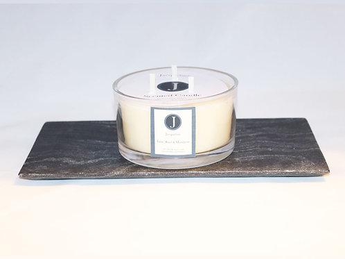 Lime, Basil & Mandarin Beeswax Candle 425g