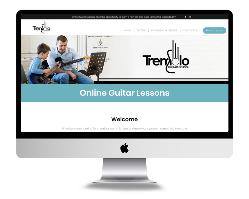 Online Guitar Lesson - Tremolo Guitar School