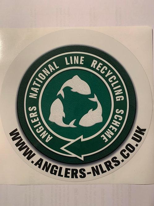 Large ANLRS seat box sticker