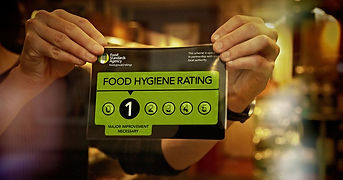 Achieving Food Hygiene Rating Level 5.jp