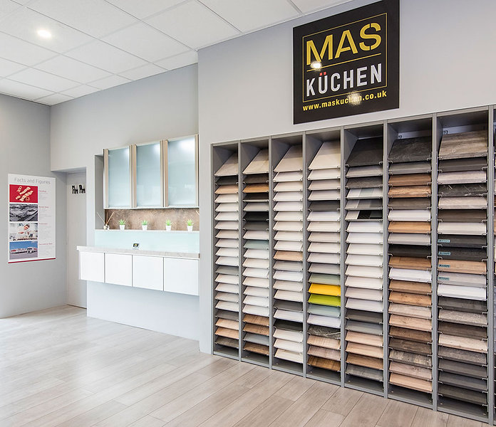 Mas Kuchen showroom based in Reading.