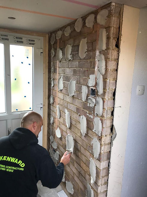 R.Kenwoard Plastering Contractors Sticking