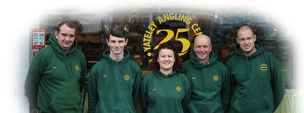 Yateley Angling Team of Staff