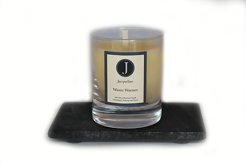 Winter Warmer Beeswax Candle 165g