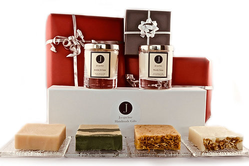 The Soap & Candle Collection - Woody Flora
