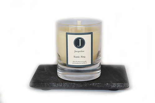 Exotic Zing Beeswax Candle 165g