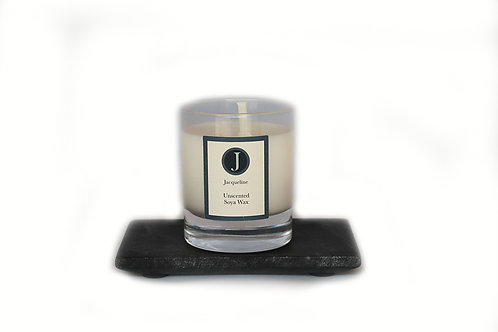 Unscented Soya Wax Candle 165g