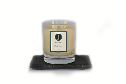 Woody Citrus Beeswax Candle 220g