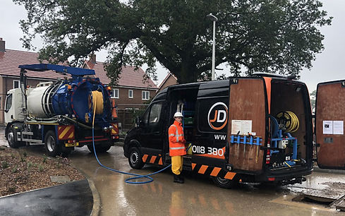 JD Drains Gully Cleaning Services Reading