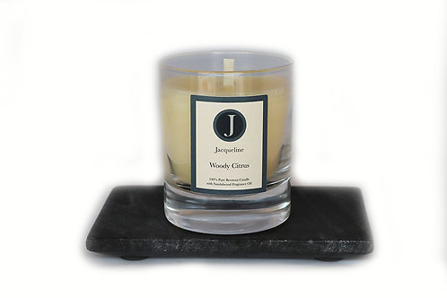 Woody Citrus Beeswax Candle 165g