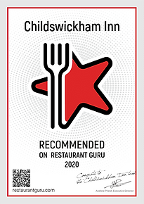 Childswickham Inn Recommened on Restaurant Guru 2020