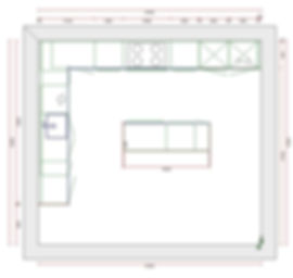 Raffle . floor plan of kitchen units.JPG